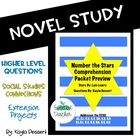 Number the Stars CCSS Comprehension Packet Preview