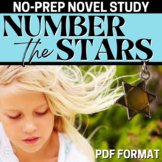 Number the Stars Literature Guide: Common Core Aligned Tea