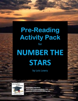 Number the Stars Pre-Reading Ideas and Activities