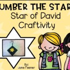 Number the Stars -  Star of David Craftivity