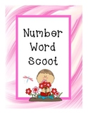 Number Word Scoot Game