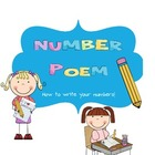 Number writing poem