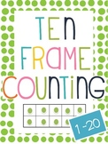 Numbers 1-20 using Ten Frame {Common Core Aligned