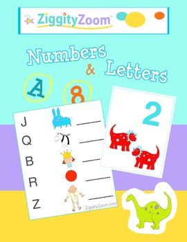 Numbers and Letters Math and Literacy Fun
