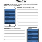 Numbers and iWeather
