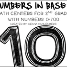 Numbers in Base Ten {5 Math Centers 0-700}