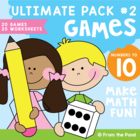 Numbers to Ten Ultimate Pack #2 - Number Games / Centers