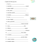 Numeri, Giorni, Mesi (Numbers, Days, Months in Italian) worksheet