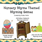 Nursery Rhyme Rhyming Games