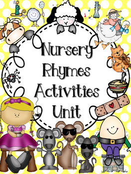 Nursery Rhymes Activites Unit (Free Mini Book in Preview)