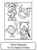 Nursery Rhymes Activites Unit (Free Mini Book Reader in Preview)