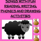 Nursery Rhymes & Songs with Fun Reading, Writing, Phonics