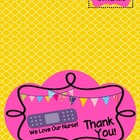 Nurse's Day Card {we love our nurse}