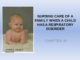 Nursing Care Of A Family When A Child Has A Respiratory Disorder