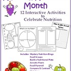 Nutrition Month (March): 12 Interactive Activities