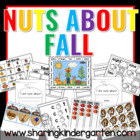 Nuts About Fall Activites