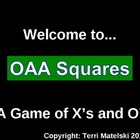 OAA Math Review Squares Game