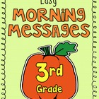 OCTOBER: Easy Morning Messages - 3rd Grade