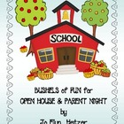 OPEN HOUSE & BACK TO SCHOOL NIGHT - Bushels of Fun!