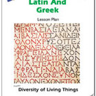 Learning Latin and Greek Lesson Plan