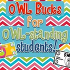 OWL Bucks for OWLstanding students