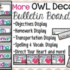 OWL Objectives Board and Direct Your Heart Signs