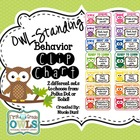OWL-Standing Behavior Clip Chart