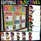 Objectives Bulletin Board {Melonheadz Edition}