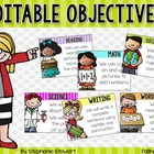 Objectives (Editable)