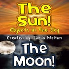 Objects in the Sky Powerpoint {Sun and Moon Facts}