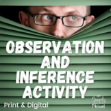 Observation, Inference, and Prediction Activities