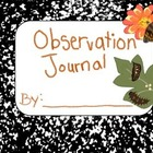 Observation Journal (Butterfly Hatch)