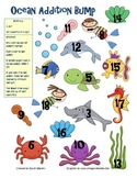 Ocean Addition, Subtraction, and Multiplication Bump Games
