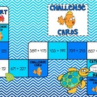 3-Digit Addition Game - Ocean Adventure - 3.NBT.2, 4.NBT.4