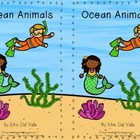 Ocean Animals Emergent Reader