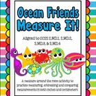 Ocean Friends Measurement (CCSS 2.MD.1, 2.MD.2, 2.MD.3, 2.MD.4)