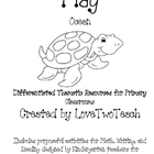 Ocean:  Purposeful activites for Math, Writing and Reading