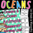 "Ocean ""Research""w/ Ocean Animals ""Research"" Writing w/Lite"