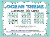 Ocean Theme Job Cards