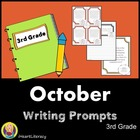 October 3rd Grade Common Core Writing Prompts