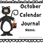 October Calendar Journal (integrates math and literacy!)