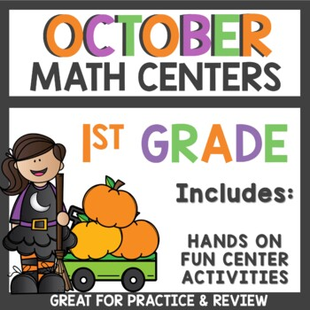 Halloween Count The Room Math Activities for October