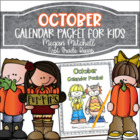 October Daily Calendar Review and Math Practice