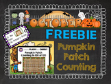 October FREEBIE Pumpkin Patch Counting - Interactive Hundr