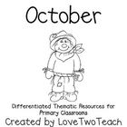 October Fun:  Literacy and Math Center Activities with a Purpose