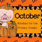 October ~ Halloween Math and Literacy Activities for the P