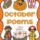 October Poetry Unit and Writing Activities CCSS Grades 1-2