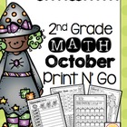 October Print N' Go 2nd Grade
