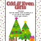 Odd & Even Gifts Math Center