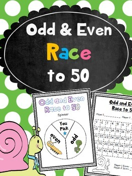 Odd and Even Number Race